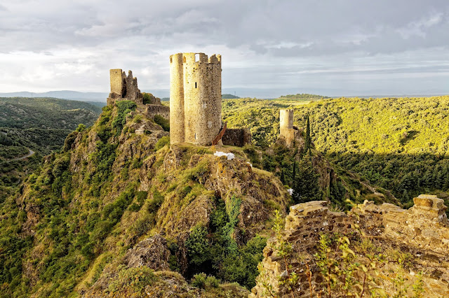 Castillos de Lastours, Francia