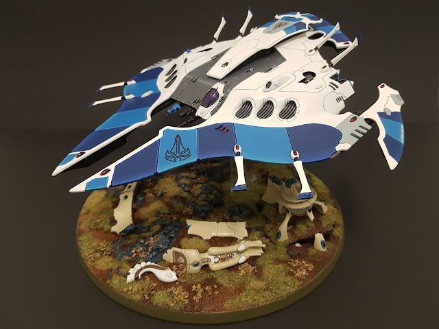 What's On Your Table: Eldar Pegasus Superheavy Transport