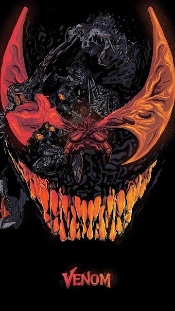 wallpaper Android 720x1280, Venom, mostro
