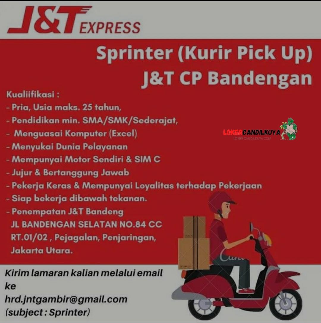 Lowongan Kerja Kurir J&T Express