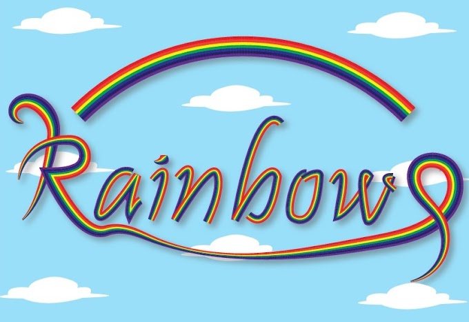 Rainbow Text Effect in Adobe Illustrator