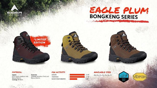 Eiger Eagle Plum Bongkeng