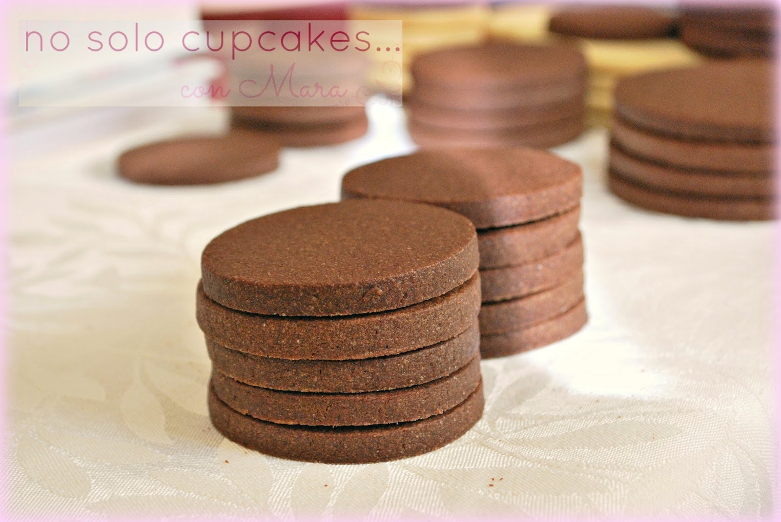 galletas de chocolate y mantequilla