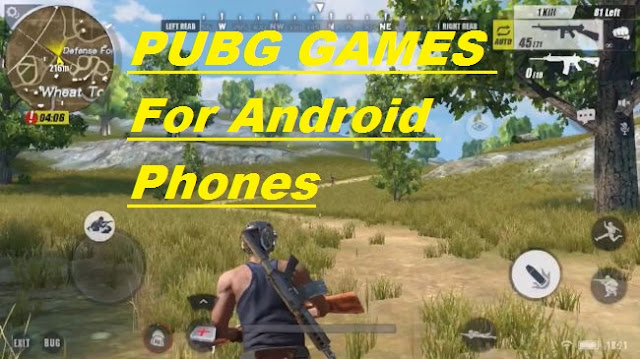 PUBG GAMES FOR 2Gb Android Mobile