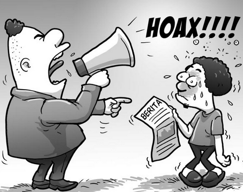 Cara Memusnahkan Berita Hoax di FB