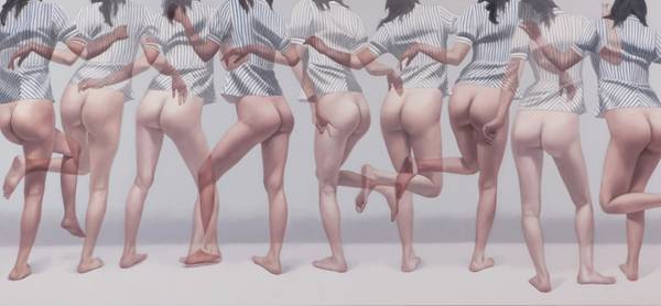 Ho Ryon Lee. Overlapping Images. Pintura | Painting