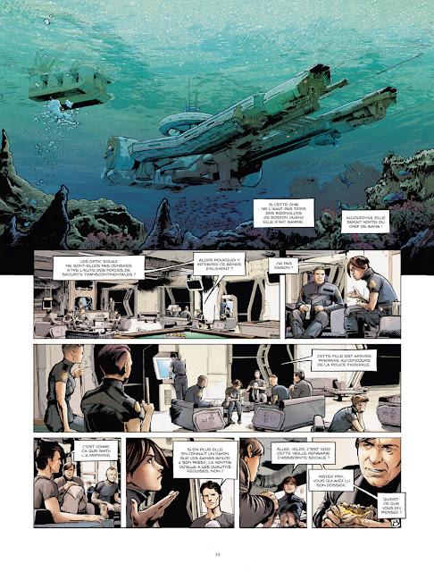 Optic Squad Tome 1 - Mission Seattle de Sylvain Runberg et Stéphane Bervas aux éditions Rue de Sèvres Page 14