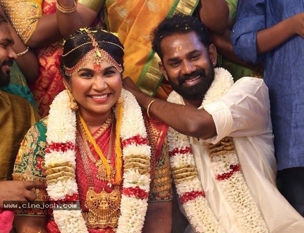 Actor Ramesh Thilak Navalakshmi Wedding