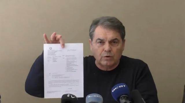 Δ.Καμπόσος: Η προσπάθεια εκβιασμού των βιομηχανιών χυμοποιείας δεν θα περάσει (βίντεο)