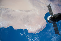Sahara Desert, Mediterranean Sea and the International Space Station