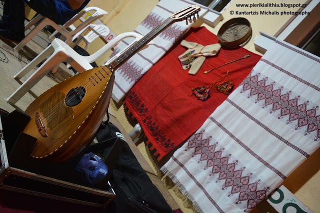 Οργάνωση Εθελοντικής Αιμοδοσίας και Αγιασμός από τον Σύλλογο Κρητών Πιερίας «το ξαθέρι».