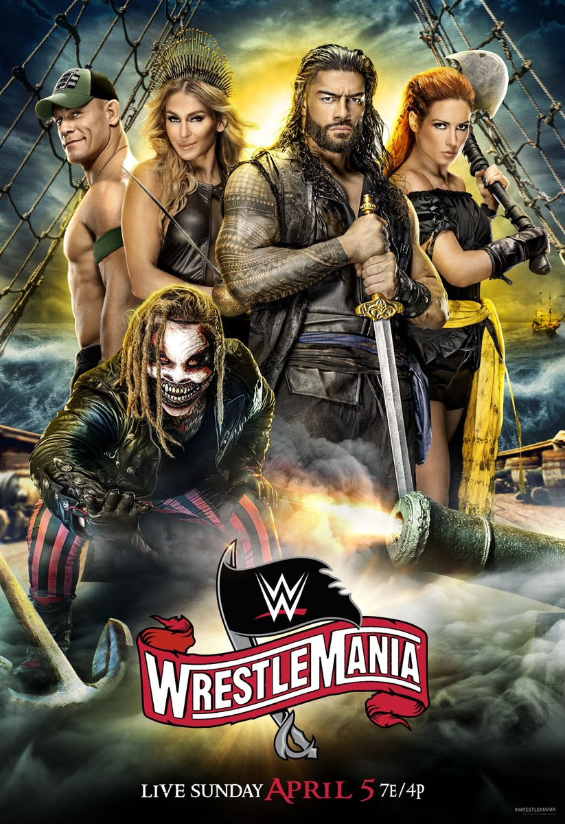 WWE WrestleMania PPV (04 Apr 2020) full hd 480p HDTV 480MB