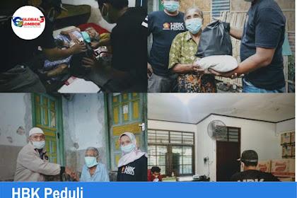 HBK PEDULI Kembali Salurkan Bantuan Sembako untuk Kaum Dhuafa