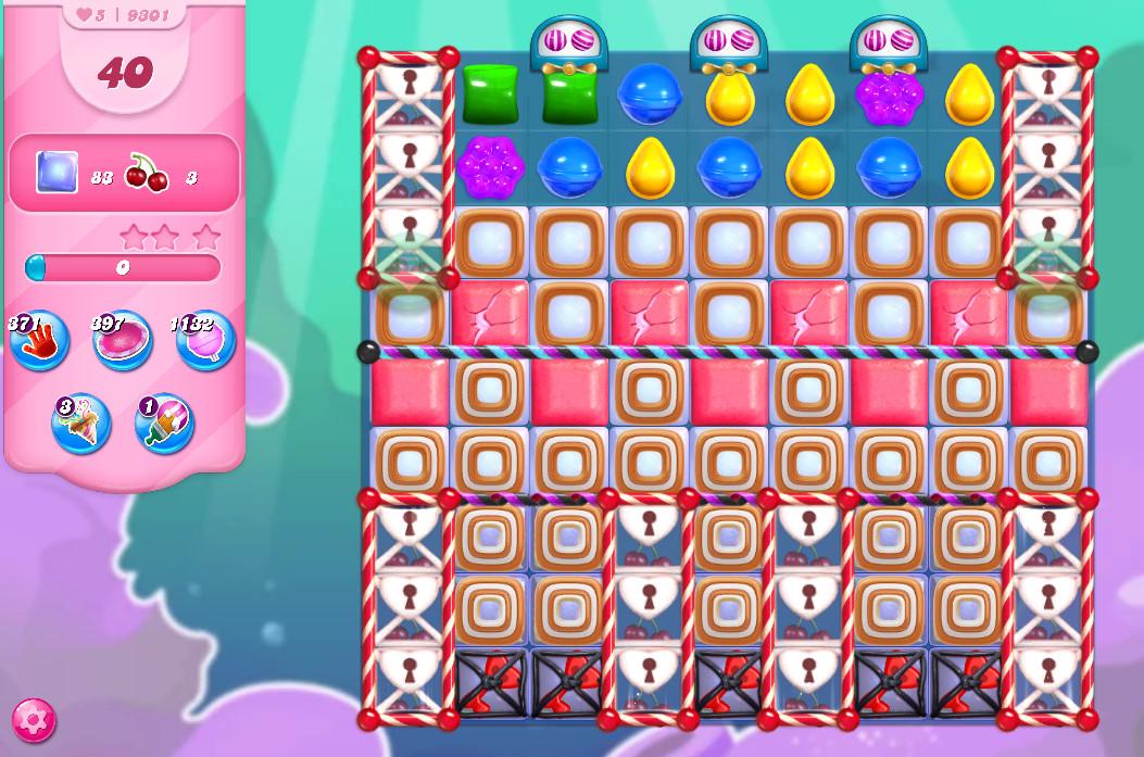Candy Crush Saga level 9301