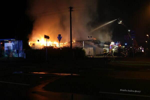 Feuer in Sankt Augustin Menden / eigene kleine Welt