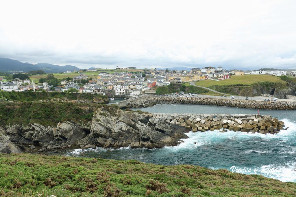 Puerto de Vega, en la Senda Naviega de Asturias