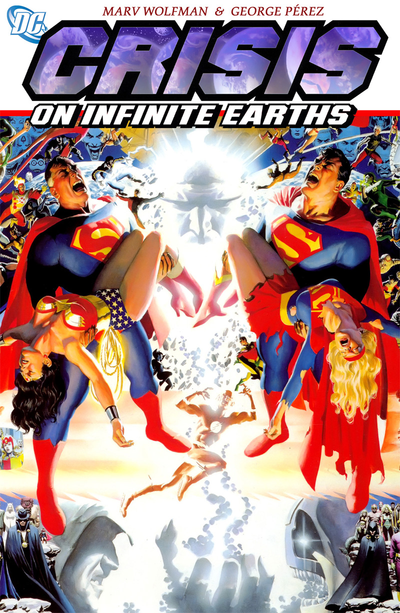 Movies En Blu Ray Crisis On Infinite Earths Hardcover