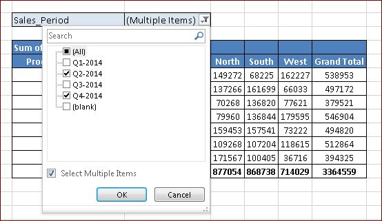 how to change the filter range in excel