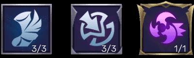 Emblem Leomord Tersakit dan Terkuat