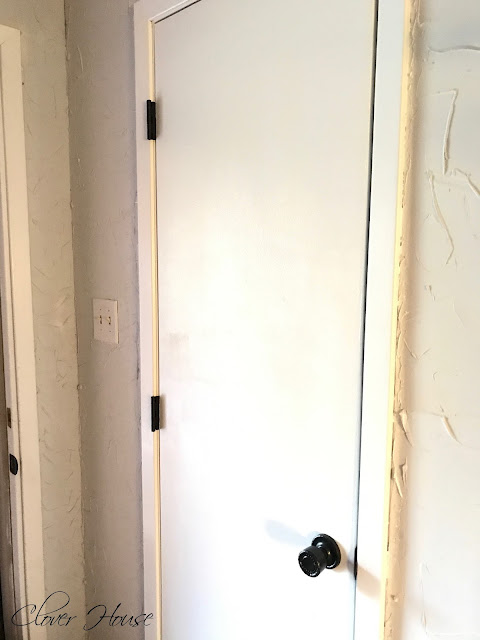Clover House Builder Grade Door Makeover Saving