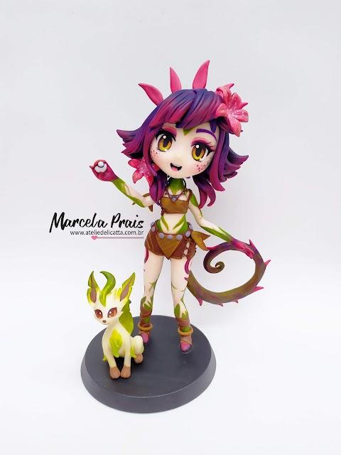 Neeko treinadora de Pokemon