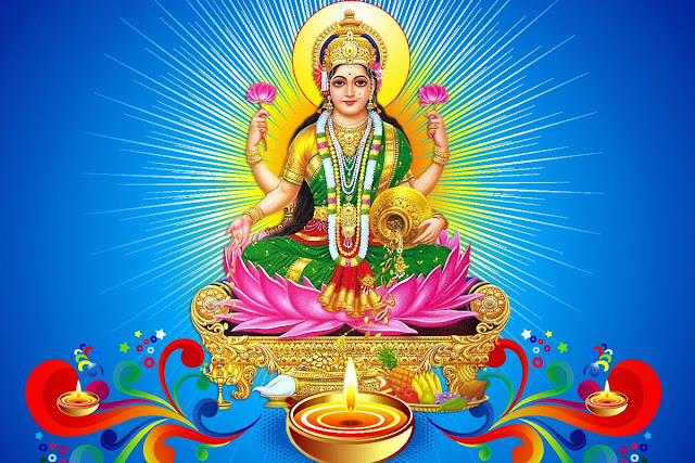 Beautifull Maa Lakshmi Wallpaper
