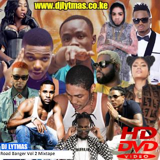 ROAD BANGER VOL 2  VIDEO MIX|Afro Video Mix|Latest Bongo Video Mix|Dancehall Video Mix 2018 by DJ LYTMAS