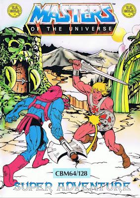 Portada videojuego Masters of the Universe - Super Adventure