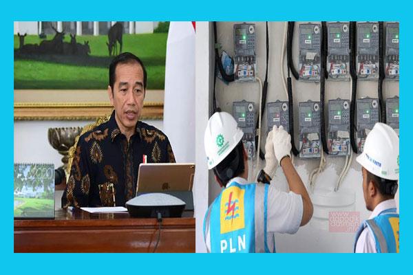 Presiden Jokowi Gratiskan Tagihan Listrik Selama 3 Bulan Tinggal Berkoordinasi dengan Menteri ESDM Kebijakan ini akan Dimulai di Bulan April