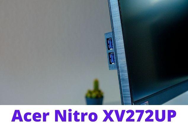 Acer Nitro XV272UP Design