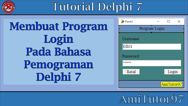 Tutorial delphi 7 lengkap pdf
