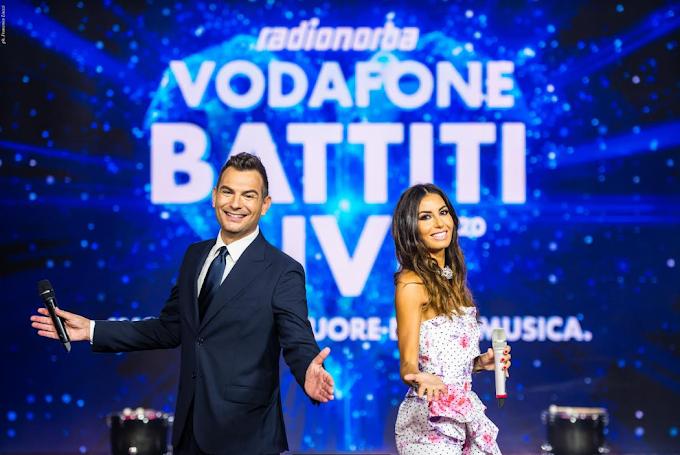 Terzo appuntamento con 'Radionorba Vodafone Battiti Live'