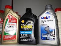 Rekomendasi oli ATF terbaik untuk mobil
