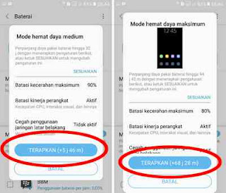 mode hemat data daya di HP samsung galaxy
