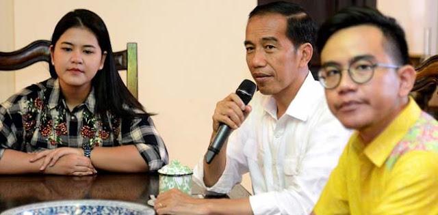 Anak Jokowi Masih Muda, Belum Matang Masuk Politik