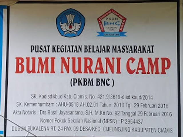 PKBM Bumi Nurani Camp Ciamis: Merawat dan Mengembangkan Kearifan Lokal dan Seni Budaya Tradisional