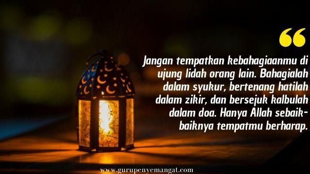 Kata Mutiara Motivasi Tahun Baru Islam 1443 H