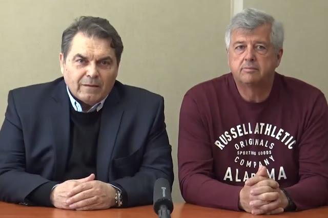 """Ο Νίκος Σαρηγιάννης υποψήφιος με τον συνδυασμό """"Αλλαγή Πορείας Δημήτρης Καμπόσος"""" (βίντεο)"""