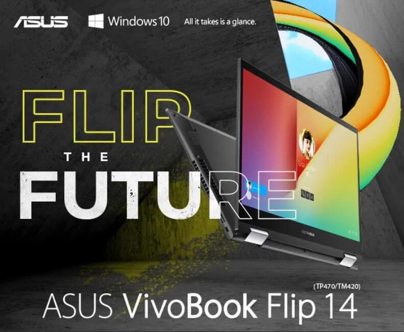 ASUS VivoBook Flip 14 Series Lands in PH; Price Starts at Only Php42,995