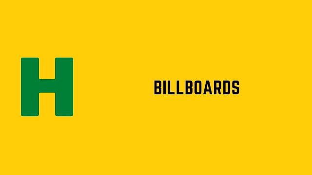 HackerRank Billboards problem solution