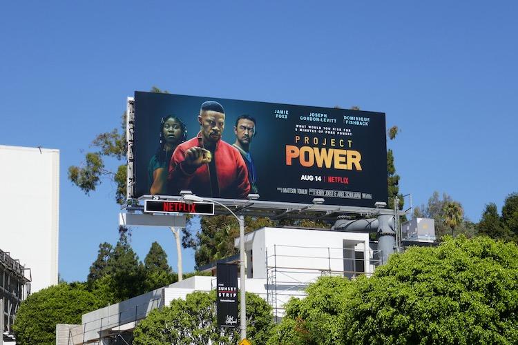 Project Power Netflix billboard