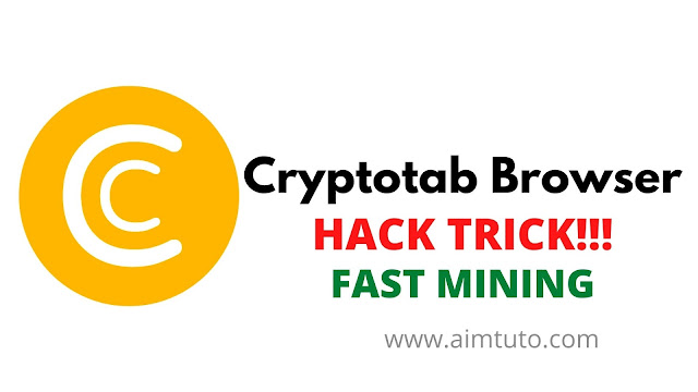 how to hack and increase cryptotab browser mining speed