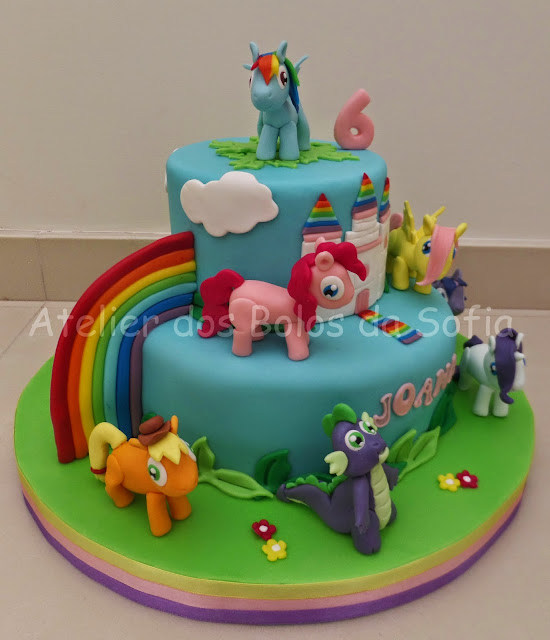 bolos my little pony para festa infantil
