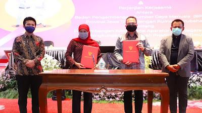 Perkuat Kompetensi SDM Pemprov Jatim, Gubernur Khofifah Jalin Kerjasama Dengan Rumah Perubahan