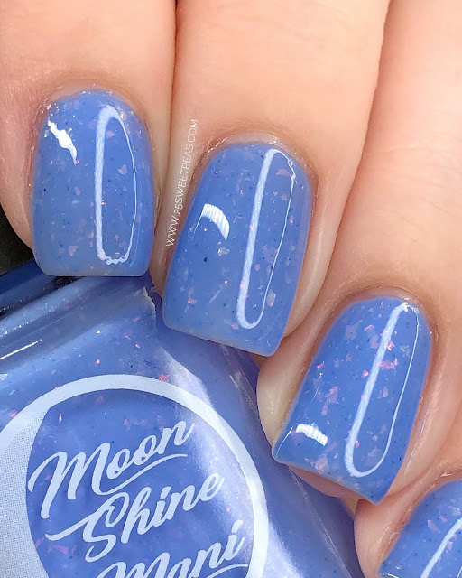 Moon Shine Mani You Can't Hurry Love 2.0 25 Sweetpeas