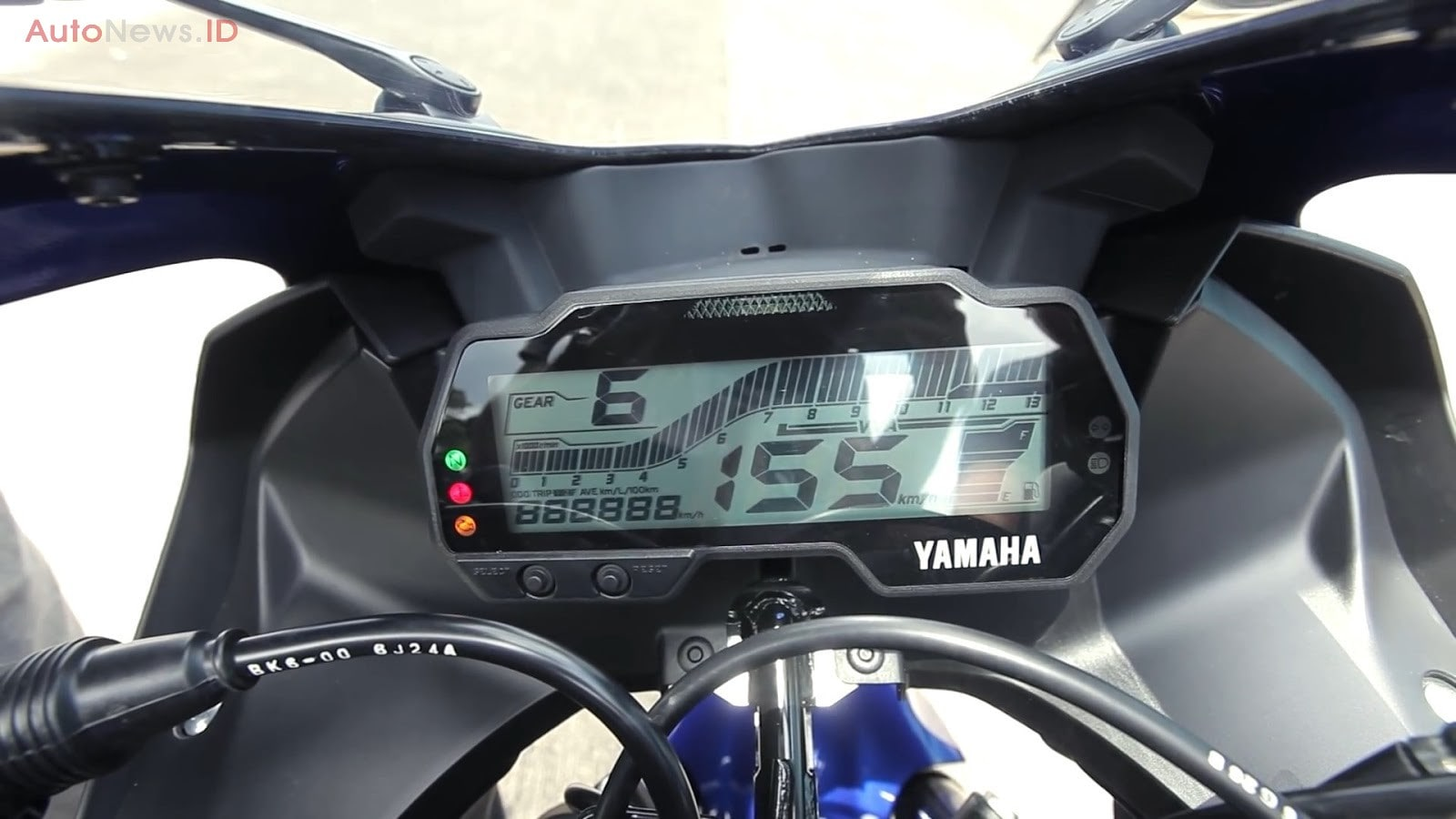 All New Yamaha R15 2017 Speedometer Full Digital
