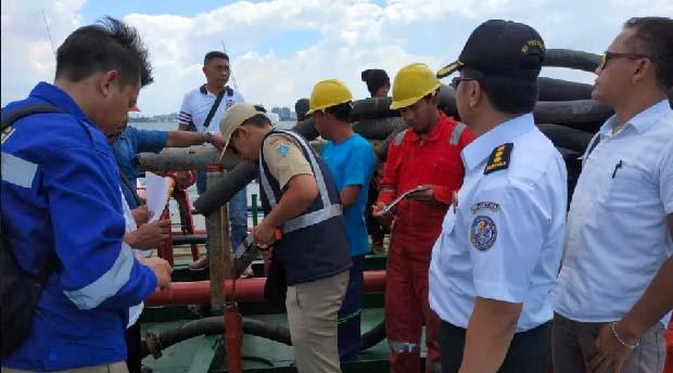 Bakamla RI Gelar Perkara Tangkapan Kapal Tanker Di Teluk Jakarta