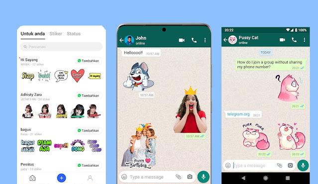 Aplikasi Stiker WhatsApp Terbaik, Bisa Buat Stiker Sendiri!