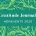 Gratitude Jurnal #DNEvents 2020