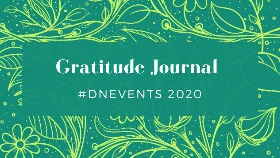 Gratitude Jurnal #DNEvents 2020